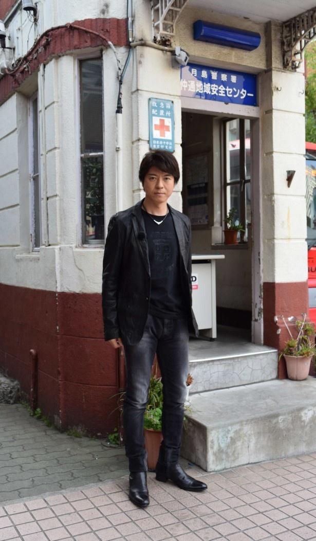 「遺留捜査」で主人公・糸村聡を演じる上川隆也