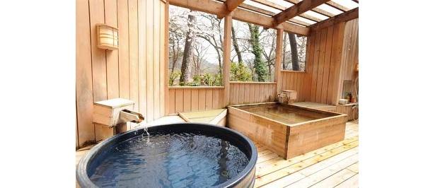 旅館「養浩亭」の露天風呂
