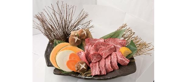 旭道山プロデュース・「焼肉KYOKU」の「KYOKU名物カルビ」