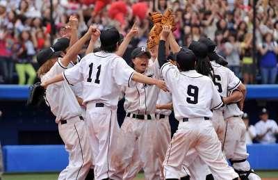 ニコガク野球部メンバーと川藤がついに横浜に!