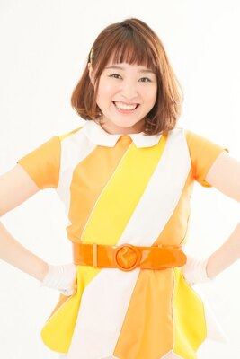 八重樫琴美。1994年9月26日生まれ。群馬県出身。Chubbinessのセンターであり、グループを引っ張るリーダー