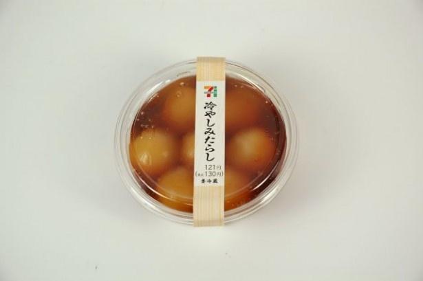 北陸~関西エリアでは3種のしょうゆを組み合わせた「冷やしみたらし」(130円)を販売
