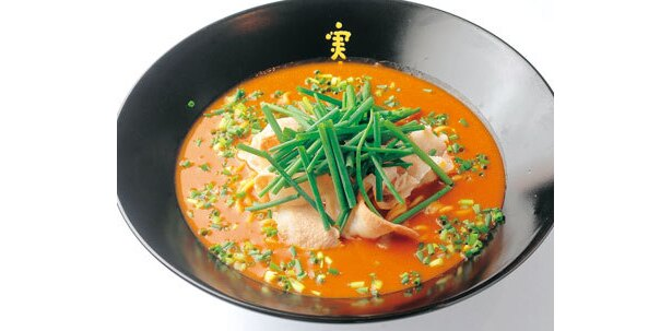 かれー麺 実之和「赤いかれー麺(辛口)」