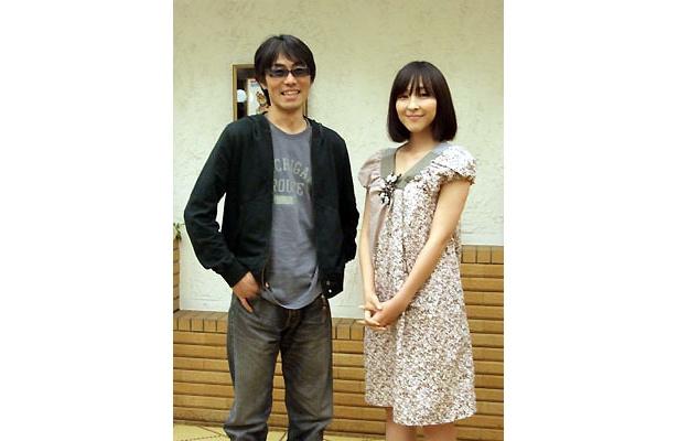 写真左は熊澤尚人監督