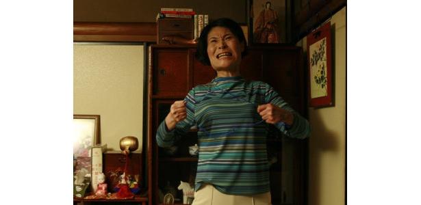 松尾スズキ監督作「部長」から。すごい剣幕で怒ってます