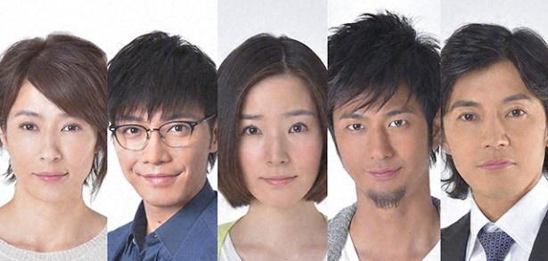 「37.5℃の涙」(TBS系)に出演する水野美紀、成宮寛貴、蓮佛美沙子、速水もこみち、藤木直人(写真左から)