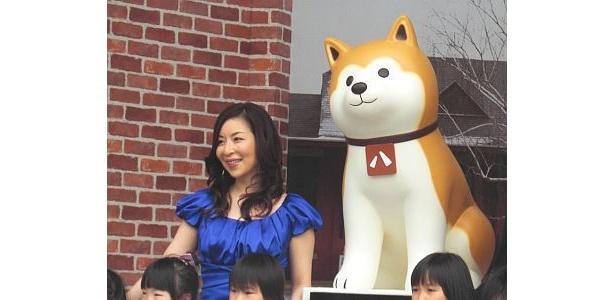 真矢さんはプライベートではロングコートチワワを飼う