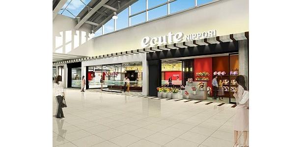 日暮里駅が生まれ変わる!新たに16店舗がオープン