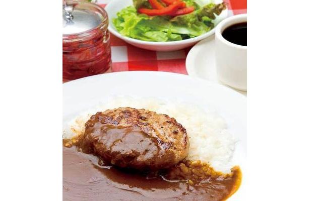 京阪モールの「洋食ステーキカレーフジオ軒」(1F)のハンバーグカレーセット通常1080円が540円に