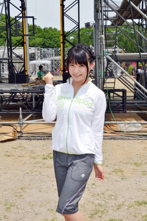 TBS系で7月1日(水)放送の「SASUKE 2015」に出場する星名美津紀にインタビューを行った