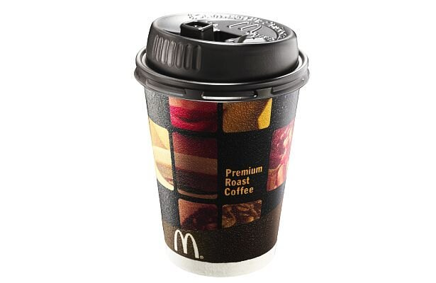 豆にこだわり「マクドナルド プレミアムローストコーヒー」(120円/Sサイズ)