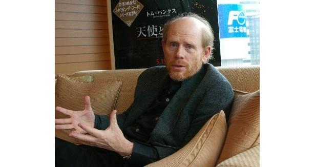 『天使と悪魔』について熱弁するロン・ハワード監督