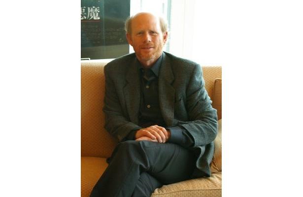 『アポロ13』(95)以来14年ぶりの来日となったロン・ハワード監督