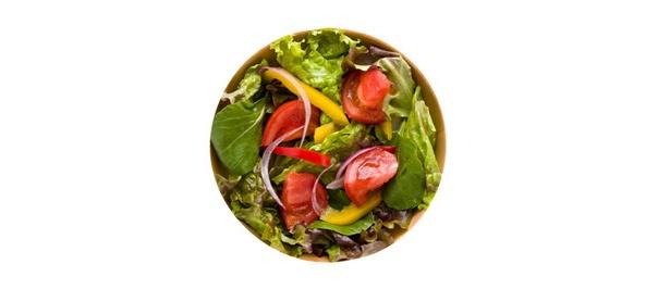 旬野菜のサラダは常温にして食べれば酵素パワーを発揮!