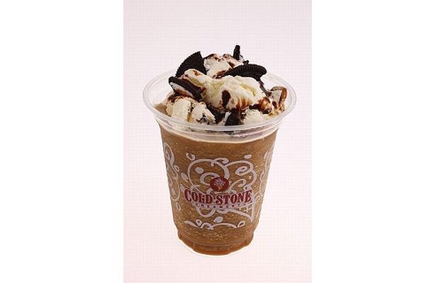 アイスが山盛り!ほろ苦いコーヒーとリッチなミルク味がマッチした「Cafe COOKIE」