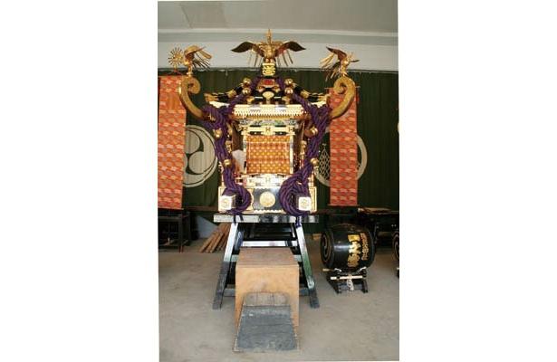 神輿「一之宮」。南部16の町会を回る