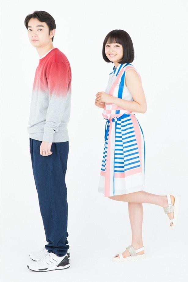ともに細田守作品のファンだというふたりが、最新作『バケモノの子』で共演する