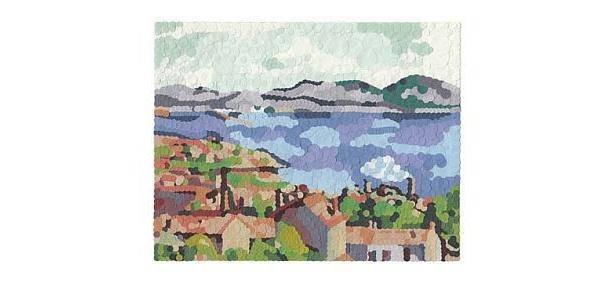 セザンヌの「レスタックから見たマルセイユ湾」