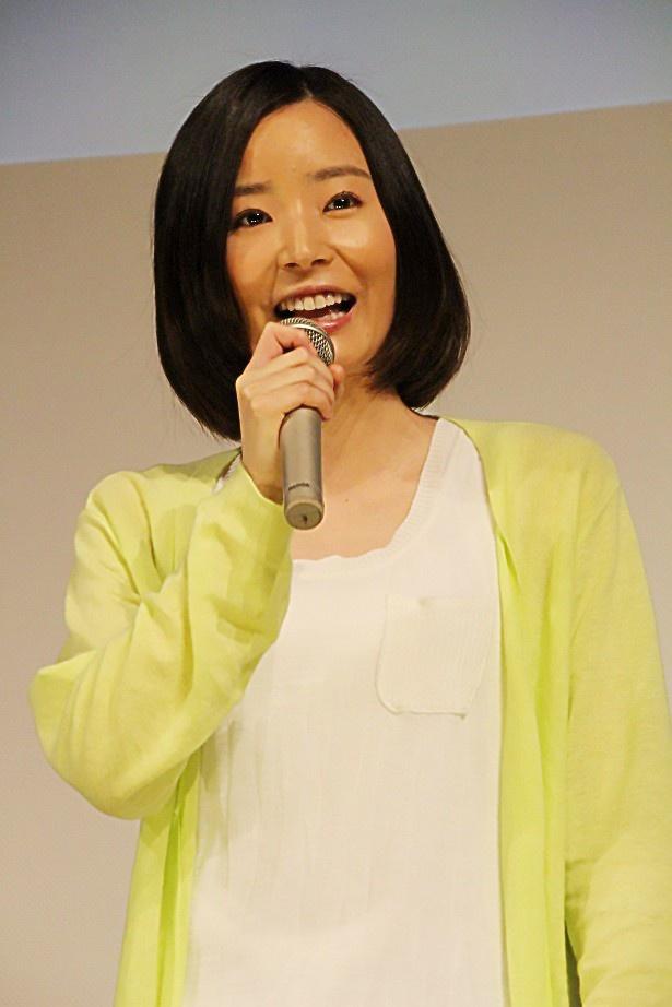 7月9日(木)から放送が始まるTBS系新ドラマ「37.5℃の涙」の完成披露試写会に主演の蓮佛美沙子らが登場
