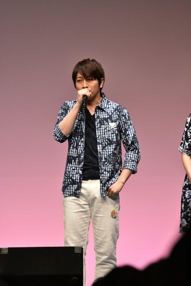 突っ込み役の神谷さんが不在のステージでしたが、小野さんの奮闘もあり、大きなケガもなく(?)進行しました