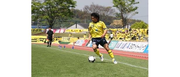 攻撃のキーマン、長谷川太郎(写真提供:ニューウェーブ北九州)
