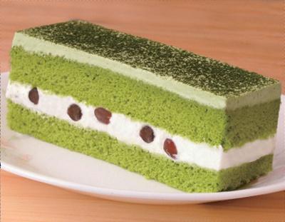 抹茶のケーキも280円!