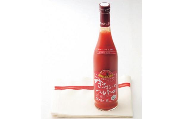池一彩果園のぎゅぎゅっとフルトマ 赤ラベル(500ml) 1155円