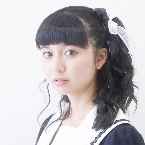 髪のアクセサリーが素敵な上白石萌歌さん