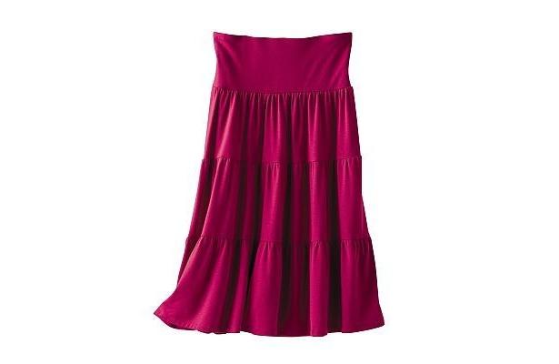 スカートにもキャミにもなる「2WAYギャザースカート」(2990円)【ほか他の商品画像】
