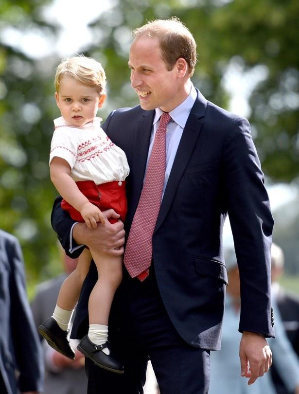 ジョージ王子は「いたずら小僧」と語ったウィリアム王子