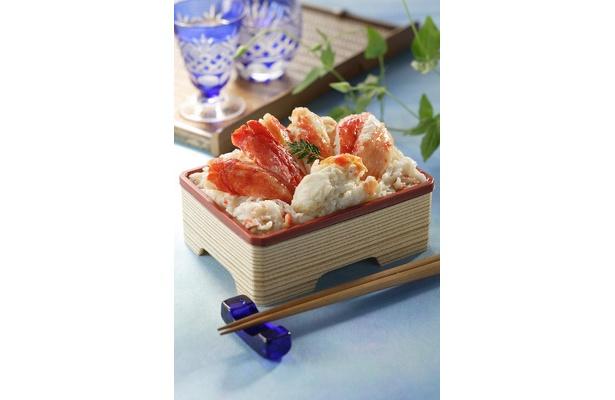 「マル海光洋水産」の北海たらばがに弁当…¥1890