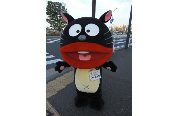 """浜松市のPRにやってきたはままつ""""福""""市長「ウナギイヌ」"""