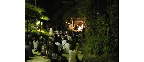 月夜の深大寺は雰囲気たっぷり!