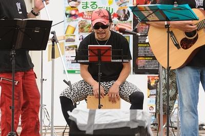 3月の声援団単独チャリティーライブに続いて参加の伊藤健太郎。近年では「弱虫ペダル」の田所迅役などで知られる