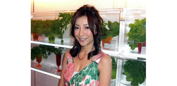 川村ひかるさんは、健康管理士や野菜ソムリエ等の資格も持っている才女なのだ!