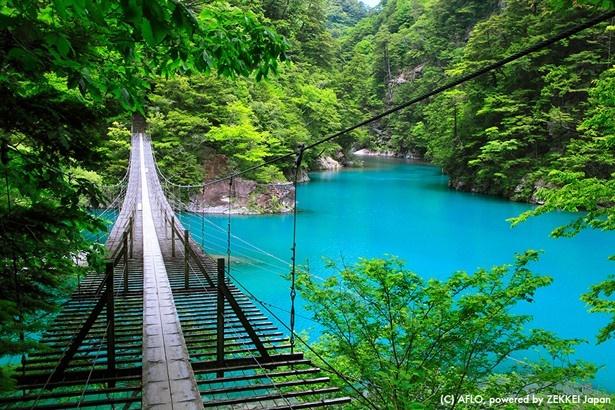 日本の絶景7、静岡県榛原郡・寸又峡