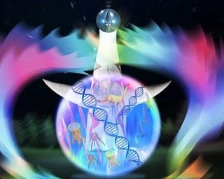 万博記念公園の夜を涼しく、幻想的に彩る体感進化系ウォーターアートプロダクションが初登場!