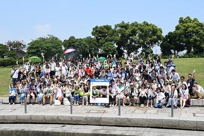 【写真を見る】187人の参加者が集まった、日本最大規模のInstaMeet「い・ろ・は・す Meet」