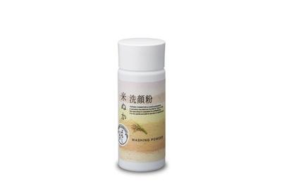 敏感肌にも優しい「よろし 洗顔粉 米ぬか」(1,080円)