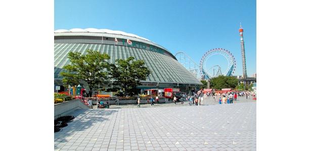 今週末も様々なイベントが催される東京ドームシティ。マスク着用などで安心して楽しみたいものだ