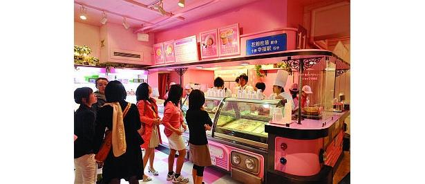 オーダーした人のみ購入できる生キャラメル(850円)はひとり5箱まで(花畑牧場カフェ)