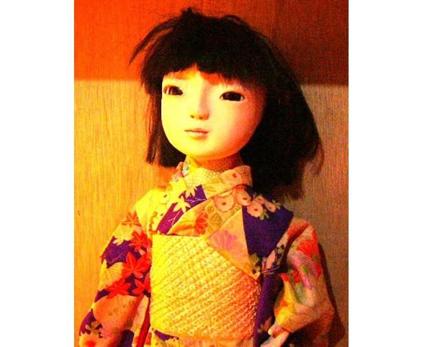 浅草花やしきのお化け屋敷は、人形を配置したオーソドックスなタイプ。建物