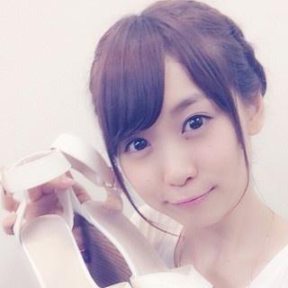 i☆Risゆうちゃんはヒール+日傘でドヤッと笑顔♪