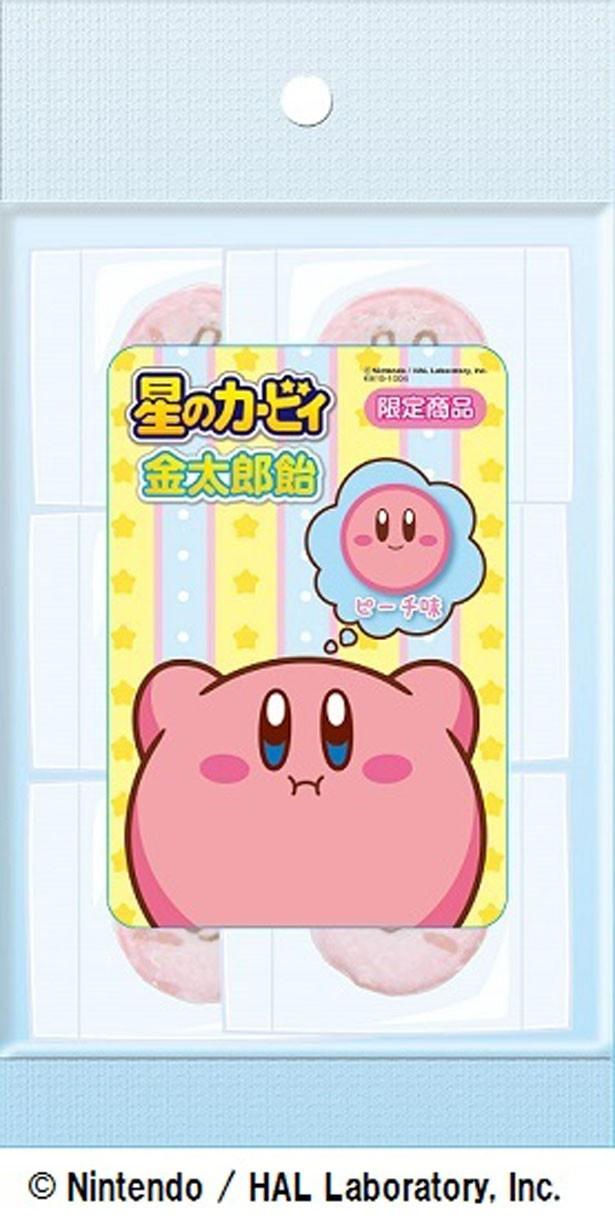 「金太郎飴」(540円)は、とびきりかわいいカービィの顔が断面に!