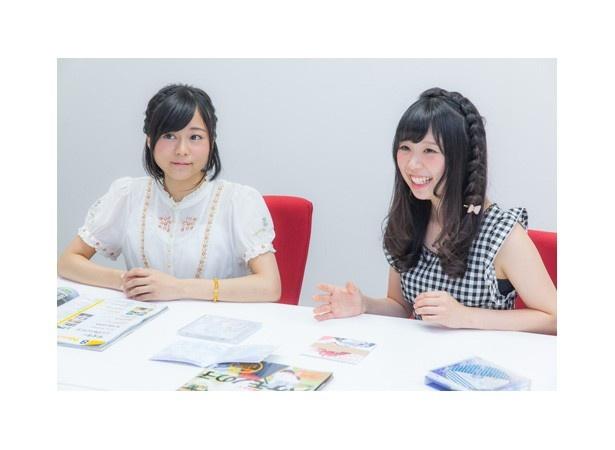 「ナナシス」メインキャスト2人にインタビュー!