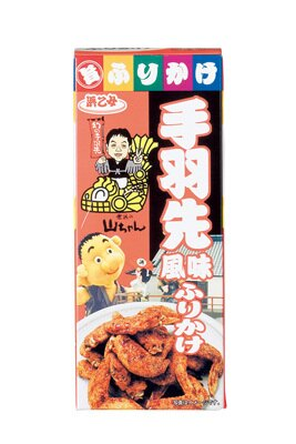 「幻の手羽先」の味を再現した「山ちゃんふりかけ 手羽先風味」(60g、420円)