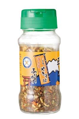 静岡のご当地B級グルメ代表「富士宮やきそばふりかけ」(100g、630円)