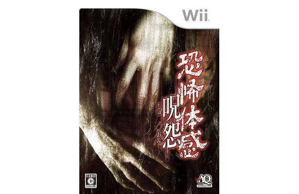 こちらはWii専用ゲーム「恐怖体感 呪怨」のパッケージ