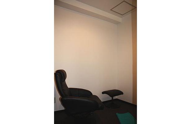 会員の会話から自発的に生まれたマッサージ室
