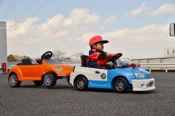 小型カーでパトロールできる「ミニロードサービスカーパトロール」